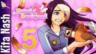Hatoful Boyfriend Gameplay w/Voices |Part 5: Anghel| MY FALLEN ANGEL |Let