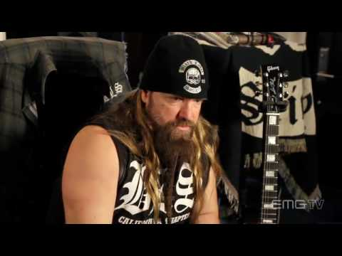 "EMGtv visits Zakk Wylde at his private recording studio ""The Bunker""."