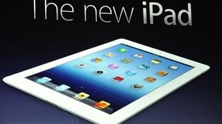 New iPad 3rd Gen and AppleTV
