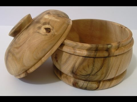 Woodturners Journal: Sycamore Lidded Box
