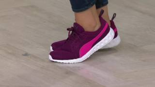 871a80a9945 PUMA Knit Lace-up Sneakers - Enzo Strap Knit on QVC - Лучшие приколы ...