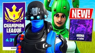 CHAMPION LEAGUE in ARENA MODE!! // Pro Fortnite Player // 2100 Wins (Fortnite Battle Royale)