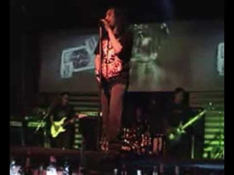 """GLETZER ROCK BAND""  Perform in Colors Pub, Surabaya."