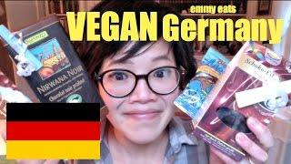 Emmy Eats Vegan Germany - tasting more German sweets