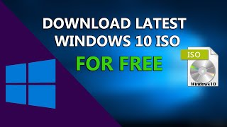 Gambar cover How To Download Latest Windows 10 ISO File For FREE | 2019