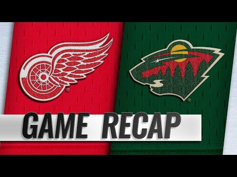 Bertuzzi records hat trick as Red Wings top Wild, 5-2
