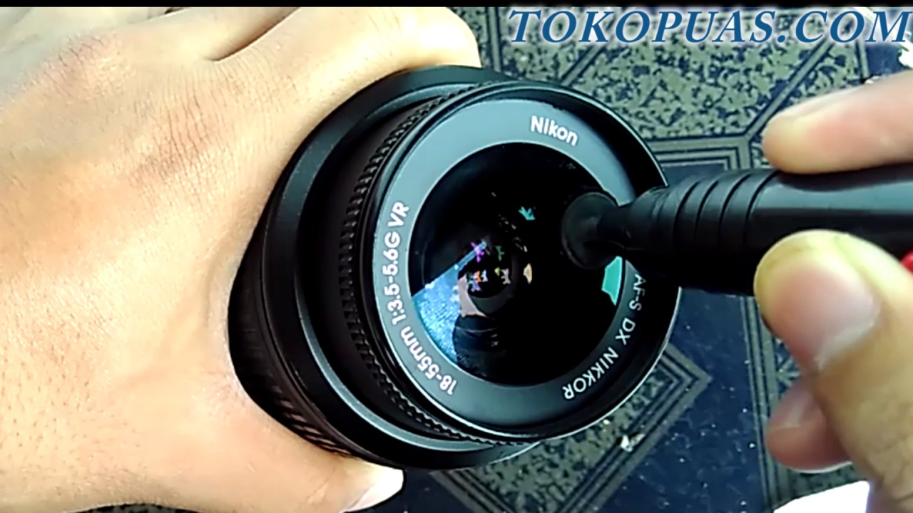 cara membersihkan lensa kamera dslr - YouTube