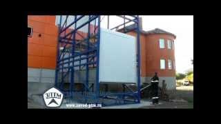 Шахтный грузовой подъемник ЗПТМ(, 2014-08-26T04:39:29.000Z)