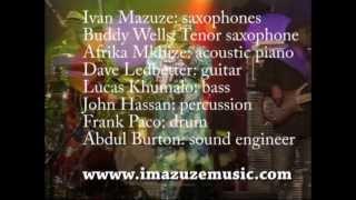 Ivan Mazuze Band @ Joy of Jazz Festival