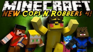 Minecraft Mini-Game : THE NEW COPS N ROBBERS ROUND 4!