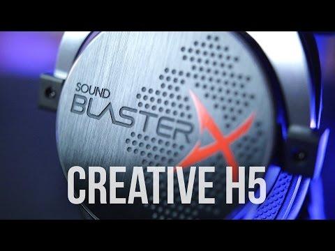 Creative H5 Gaming Review - Great Headphone! Terrible Headset?