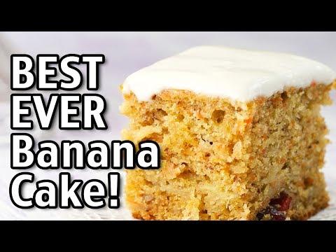 Best Ever Banana Cake Recipe How To Make An Easy Banana Cake From