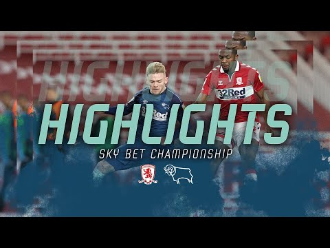 Middlesbrough Derby Goals And Highlights