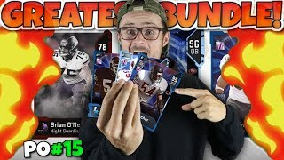 THE SINGLE GREATEST BUNDLE EVER OPENED?! Madden 19 Packed Out #15