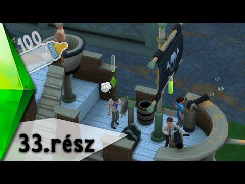 The Sims 4 - 100 Baba Kihívás - Kalózkodás - 33.rész