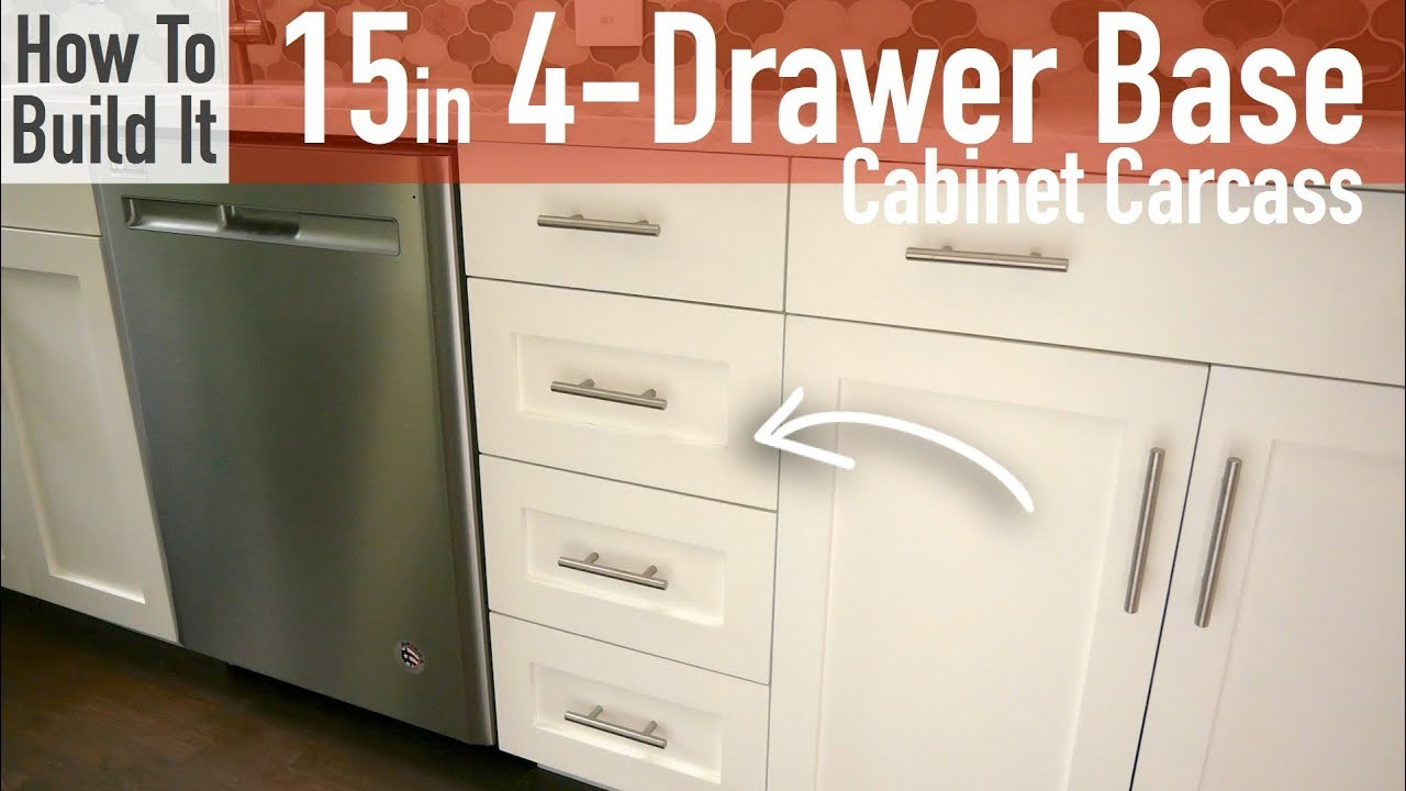 Diy 15in 4 Drawer Base Cabinet Carc