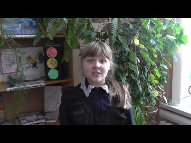 Изображение предпросмотра прочтения – ЕлизаветаБабичева читает произведение «Ворона и Лисица» И.А.Крылова