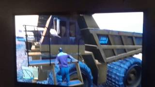Where to find the giant dump truck  in gta5