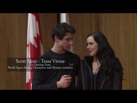 Tessa Virtue & Scott Moir - Skate Canada Interview 2015 [HD]