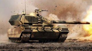 Т 95 «Чёрный орёл» — российский проект перспективного основного боевого танка
