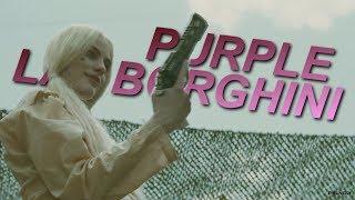 Harley Quinn Purple Lamborghini