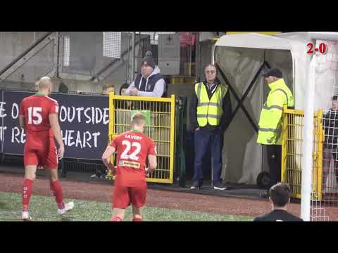 HIGHLIGHTS | Cliftonville 3-2 Carrick Rangers