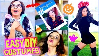 Fast & Affordable Diy Halloween Costumes! Cute, Funny, Scary + Easy