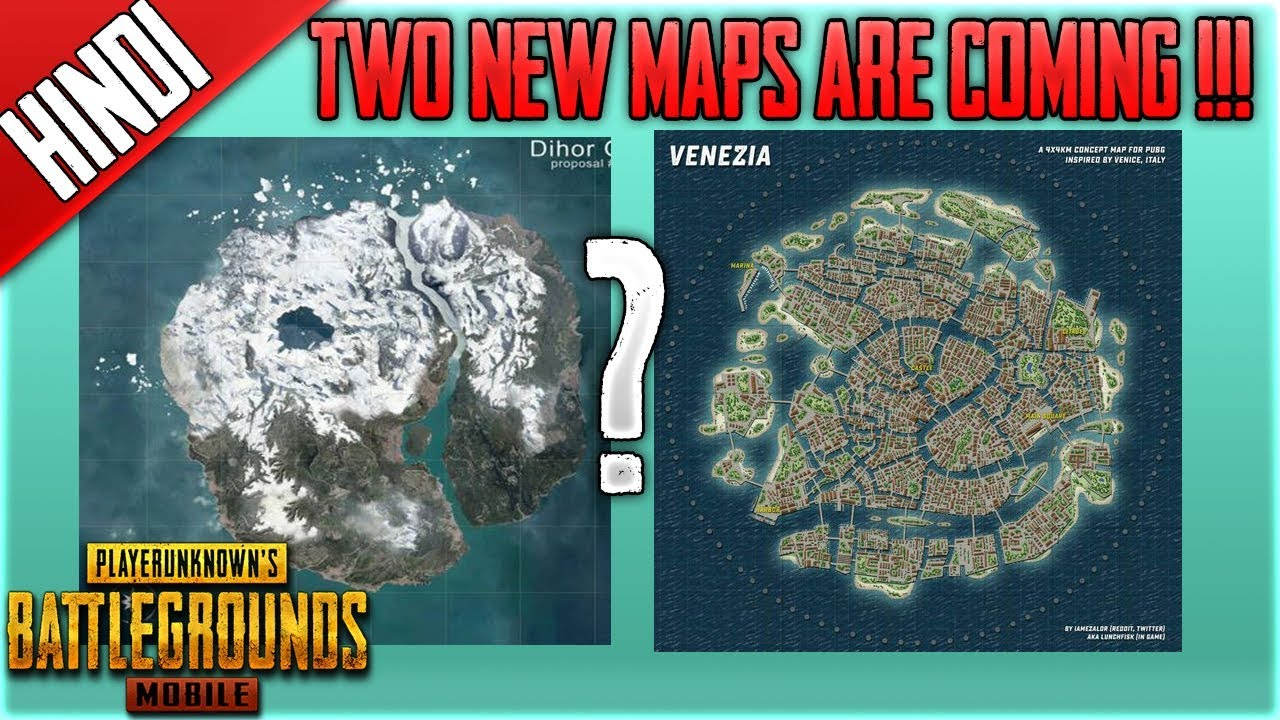 New Pubg Map Is Coming By July: All New Two Maps Are Coming To Pubg Mobile VENEZIA