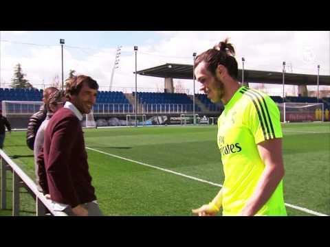 Raúl visits Real Madrid City!
