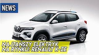 Najtańszy elektryk Renault K-ZE, Hyundai Veloster N Performance, wodorowy ciągnik siodłowy - #304