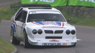 Best of hillclimb reitnau 2013. best sounds of very fast cars in great action - honda civic delta s4
