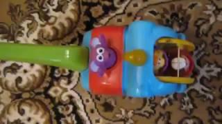 Видео обзоры игрушек - Каталка с ручкой