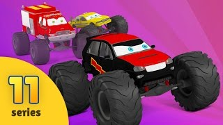 Monster Truck Cartoon For Children | New Monster Truck Adventures by Bambo-Jambo | EPISODE 11