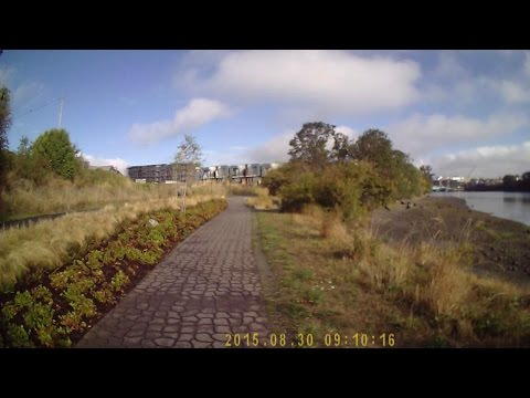 Run the Galloping Goose Trail from Swan Lake in Saanich BC to Esquimalt Rd (about 10km)