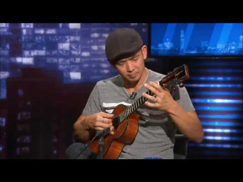 Jake Shimabukuro Performs