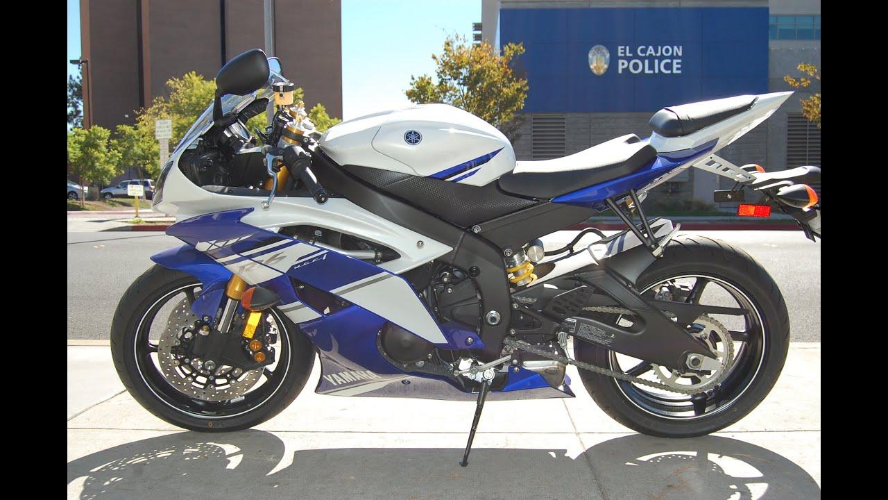 2014 yamaha yzf r6 team yamaha blue youtube for Yamaha r6 2014