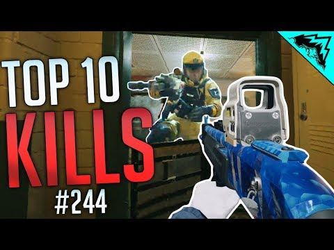 AIMING PROS - Rainbow Six Siege Top 10 Plays (WBCW #244)