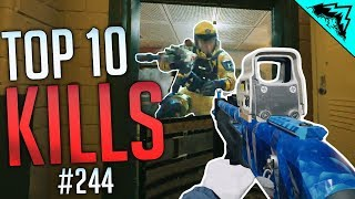 AIMING PROS - Rainbow Six Siege Top 10 Plays (WBCW #244)