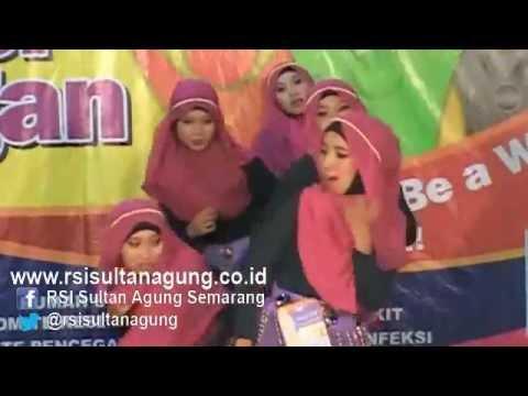 Lomba Tari Cuci Tangan RSI Sultan Agung - Ruang Annisa 2