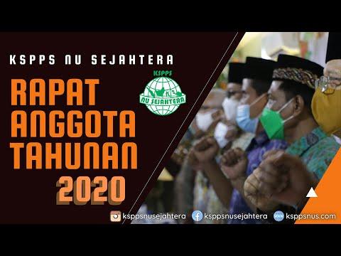 RAPAT ANGGOTA TAHUNAN (RAT) 2021 KSPPS NUS
