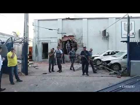 Outro ataque a carro-forte na região de Campinas