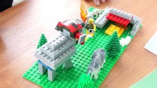 Мамонтенок из Лего