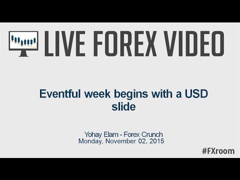 Live Europe Market Open: Eventful week begins with a USD slide