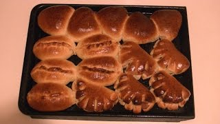 Разновидности дрожжевых пирожков с начинкой (Мастер класс)