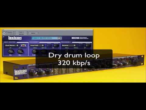 Test Lexicon MX200 in Drum