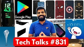 Tech Talks #831 Project Loon, Mi Band 4, Mi 9T Box, Galaxy M40, BBM Closed, Play Store Down