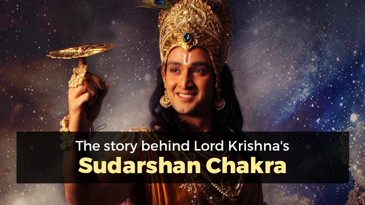 The Story Behind Lord Krishnas Sudarshan Chakra Youtube
