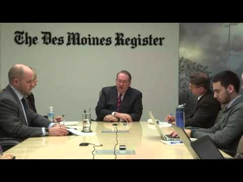Full interview: Mike Huckabee meets with Register editorial board