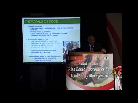 ILSI India Risk Based Approaches For Food Safety Management - Dr. K S Rao
