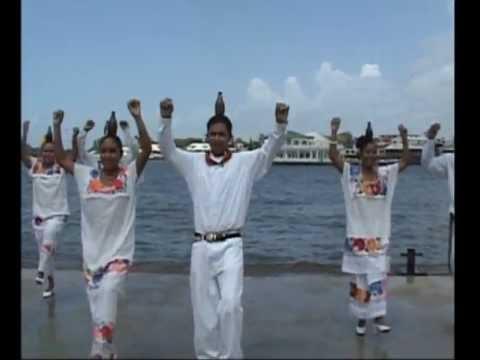 Celebratory Dance in the Port of Belize - June 2007